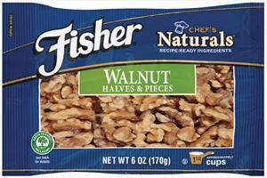 Fisher Chef's Naturals Shelled Walnuts