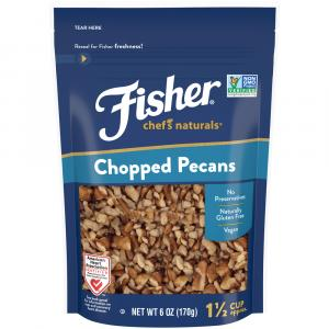 Fisher Chef's Natural Chopped Pecans