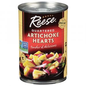 Reese Quartered Artichoke Hearts