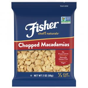 Fisher Chef's Naturals Chopped Macadamias