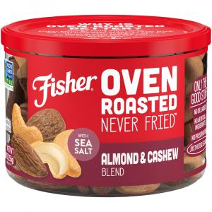 Fisher Oven Roasted Almond & Cashew Blend with Sea Salt