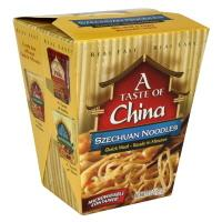 A Taste Of China Szechuan Noodle Quick Meal