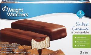 Weight Watchers Salted Caramel Ice Cream Bars