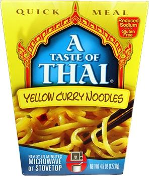 A Taste Of Thai Yellow Curry Noodles