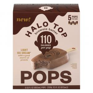 Halo Top Chocolate Brownie Batter Bars