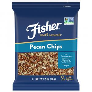 Fisher Chef's Natural Pecan Chips