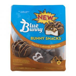 Blue Bunny Salted Caramel Pretzel Bunny Snacks