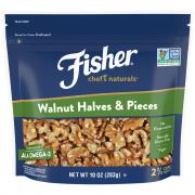 Fisher Chef's Natural Halves and Pieces Walnuts