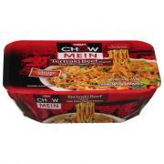Nissin Beef Teriyaki Chow Mein Noodles