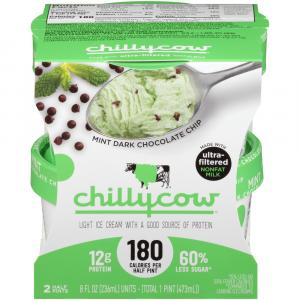 Chilly Cow Mint Dark Chocolate Chip Ice Cream