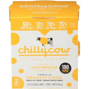 Chilly Cow Vanilla Graham Swirl Ice Cream