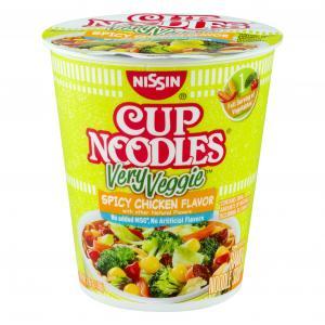 Nissin Very Veggie Spicy Chicken Flavor Cup Noodles