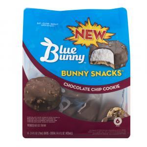 Blue Bunny Bunny Snacks Chocolate Chip Cookie