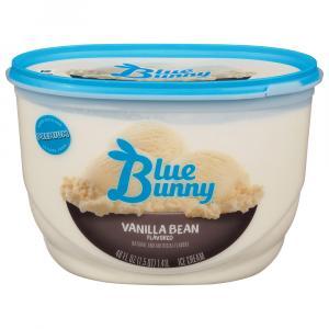 Blue Bunny Vanilla Bean Ice Cream