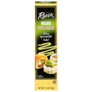 Reese Wasabi Horseradish Tube