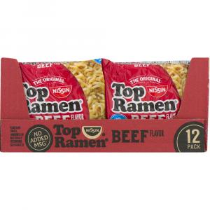 Top Ramen Beef Family Pack