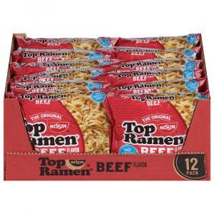 Nissin Ramen Beef