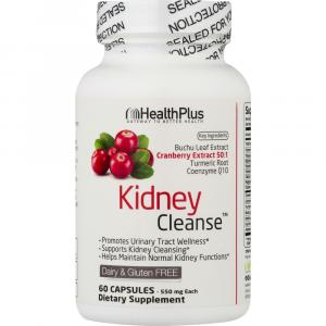 HealthPlus Kidney Cleanse Dietary Supplement Capsules