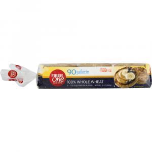 Fiber One 100% Whole Wheat English Muffins