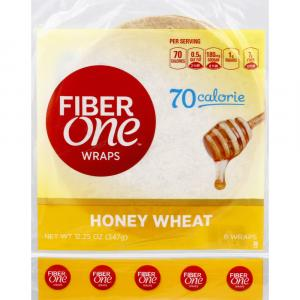 Fiber One Honey Wheat Wraps