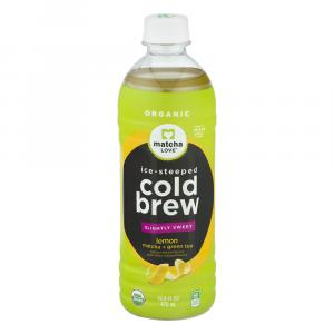 Matcha Love Cold Brew Matcha & Green Tea Lemon