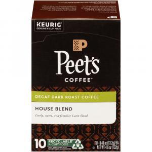 Peet's Coffee Decaf House Blend K-Cups