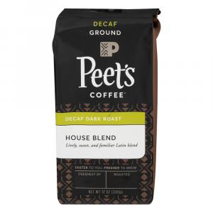 Peet's Coffee Decaf House Blend Ground Coffee
