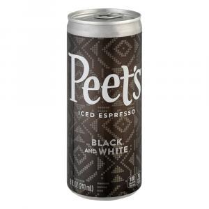 Peet's Black and White Iced Espresso