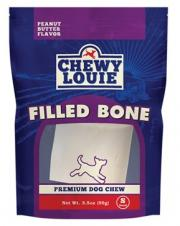Chewy Louie Peanut Butter Filled Bone - Small
