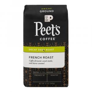 Peet's Coffee Decaf French Roast Ground Coffee