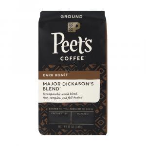 Peet's Coffee Major Dickason's Blend Ground Coffee