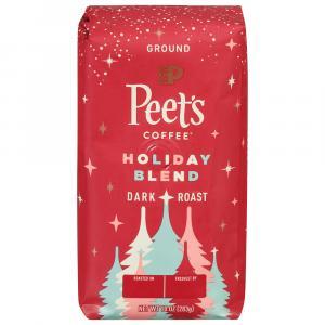 Peet's Coffee Holiday Blend Dark Roast Ground Coffee