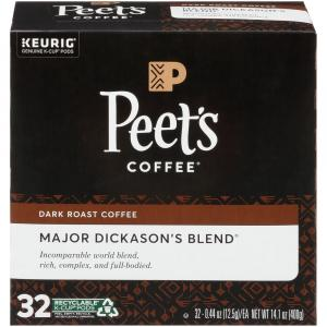 Peet's Coffee Major Dickason's Blend K-Cup Pods