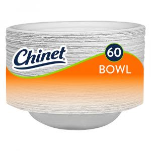 Chinet Bowl 16-ounce Classic White