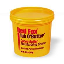Red Fox Tub O'Butter Moisturizing Creme