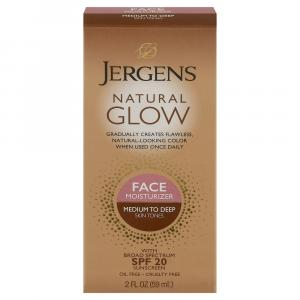Jergens Natural Glow Face SPF 20 - Med to Tan