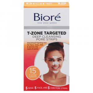Biore T-Zone Targeted Deep Cleansing Pore Strips