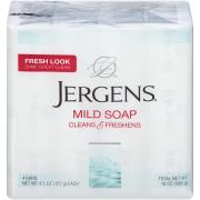 Jergens Mild Bath Size Bar Soap