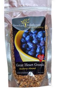 Boxford Bakehouse Organic Blueberry Almond Granola