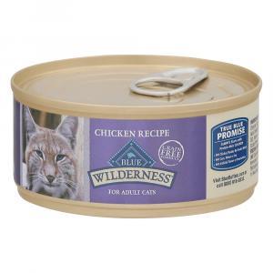 Blue Buffalo Wilderness Chicken Recipe Cat Food