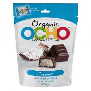 Ocho Organic Chocolate Coconut Minis