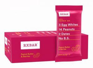 RX Bar Peanut Butter & Berries Protein Bar