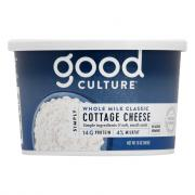 Good Culture Simply Cottage Cheese Whole Milk Classic
