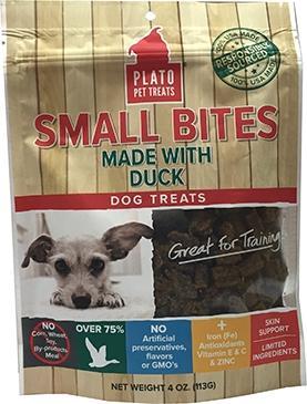 Plato Eos Small Bites Duck Dog Treats