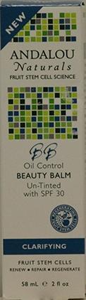 Andalou Naturals Fruit Stem Cell Beauty Balm Un-tinted Spf30