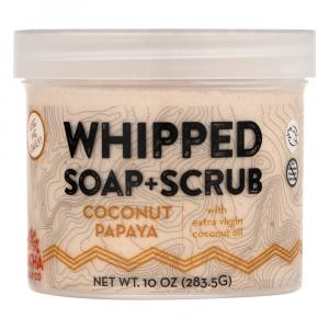 Pacha Whipped Soap & Scrub Coconut Papaya