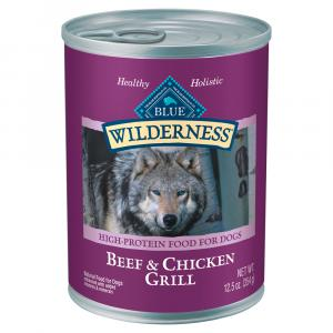 Blue Buffalo Wilderness Beef & Chicken Grill Dog Food