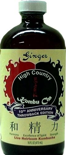 High Country Kombu Cha Ginger