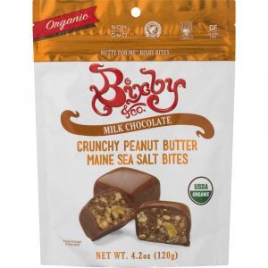Bixby Organic Milk Chocolate Crunchy Peanut Butter Bites