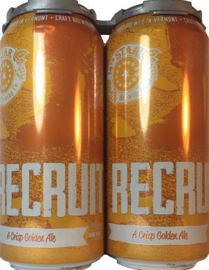 14th Star Brewing Recruit Crisp Golden Ale